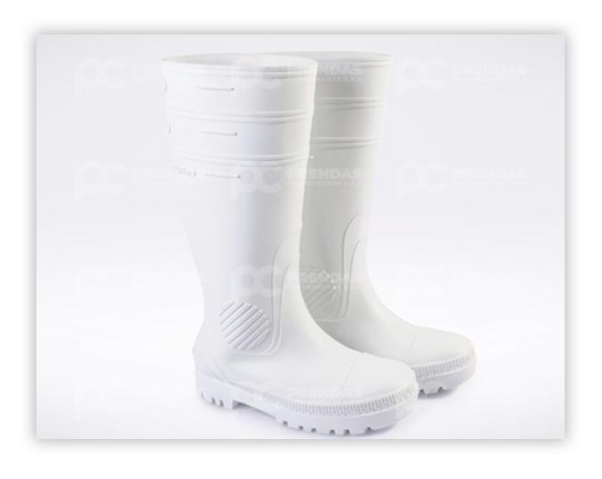 Bota en PVC Blanca