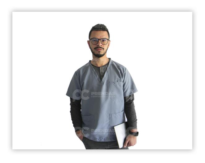 Camisa en Antifluido Hombre
