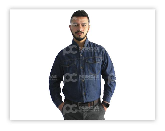 Camisa en Jean