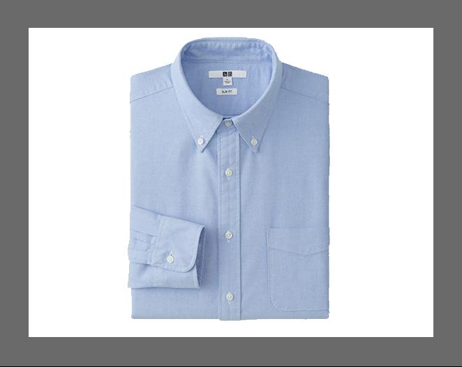 Camisa Tipo Oxford Hombre