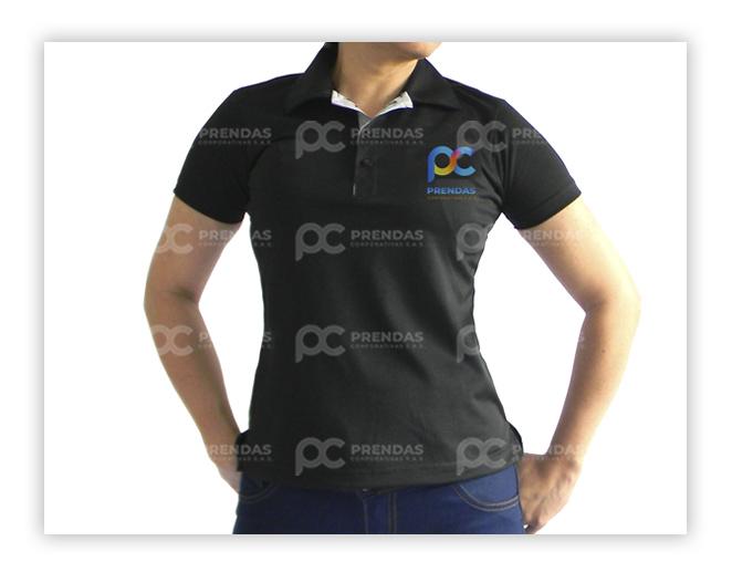 Camiseta Tipo Polo Dama
