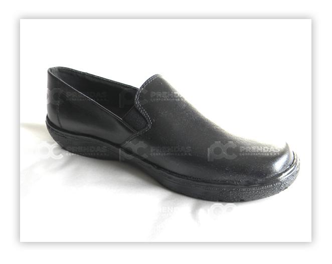 Zapato en Cuero Negro Dama